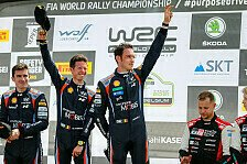 WRC Rallye Belgien 2021: Alle Fotos vom 8. WM-Rennen