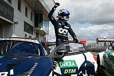 Albon bügelt nach DTM-Sieg Kritiker ab: Fahre nicht hinterher