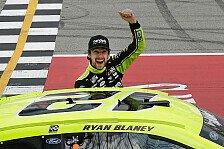 NASCAR 2021 Michigan: Blaney gewinnt Highspeed-Spektakel