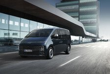 Hyundai Staria: Modernes Design mit Eiswürfellichtern