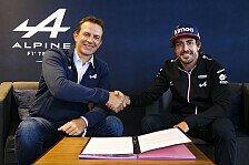 Fernando Alonso bleibt 2022 mit Alpine in der Formel 1