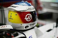 Formel 1 Spa: Mick Schumacher mit speziellem Schumi-Helmdesign