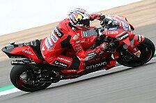 MotoGP Silverstone: Miller holt Bestzeit in FP3, Rossi stark