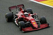 Formel 1, Ferrari schwächelt im Spa-Training: Leclerc crasht