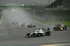 Formel 3 Spa: Schumacher Verlierer im Regen, Colombo siegt