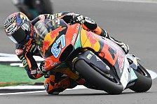 Moto2 Silverstone: Gardner holt Big Points, Fernandez stürzt