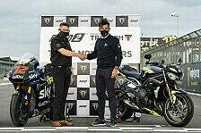 Die Moto2 startet drei weitere Jahre mit Triumph Power