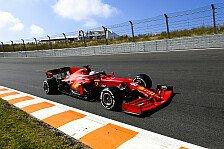 Formel 1, Zandvoort FP2: Ferrari-Doppelspitze, Hamilton kaputt