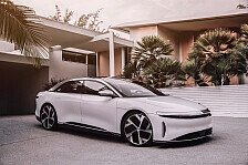 Angriff auf Mercedes & Tesla: Lucid stellt Elektrolimousine vor