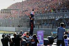 Formel 1, Zandvoort-Favoriten: Verstappen in der Mercedes-Zange