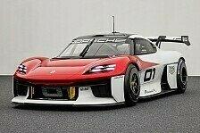 Porsche Mission R: 1.000-PS-Elektro-Rennwagen von allen Seiten