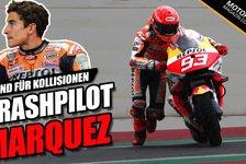 MotoGP - Video: Marc Marquez rechtfertigt sich: Deshalb so viele Kollisionen