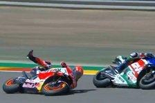 MotoGP Aragon - FP2: Marc Marquez crasht, Miller voran