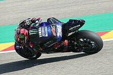 Fabio Quartararo erklärt Aragon-Debakel: Wieder Michelin!