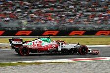 Formel 1, Giovinazzi kämpft um seinen Job: Alfa Romeo im Q3