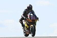 Moto2 Aragon: Lowes auf Pole, Fernandez trotz Verletzung auf P3