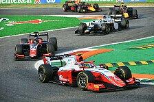 Formel 2 Monza: Piastri gewinnt Hauptrennen, Zendeli punktet