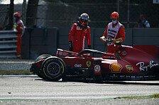 Formel 1 Monza, 2. Training: Sainz crasht heftig, Hamilton vorn