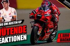 MotoGP - Video: Austin-GP trotz Corona-Chaos: MotoGP-Fahrer sauer