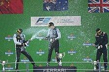 Formel 2 2021: Italien GP - Rennen 13 bis 15