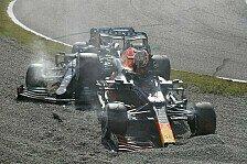 Formel 1, Monza: Verstappen und Hamilton crashen, beide raus!