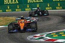 Formel 1, Norris verpasst Sieg: Hatte Hamilton-Crash im Kopf