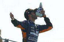 Formel 1, Ricciardo über Monza-Sieg: Glaube nie aufgegeben