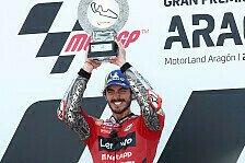 Valentino Rossi an Schüler Bagnaia: Diesen Sieg vergisst du nie