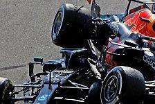 Lewis Hamilton klagt über Schmerzen nach Verstappen-Crash