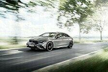 Elektrolimousine EQE: Mercedes setzt auf größeren Innenraum