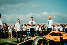 Formel 1 - Video: Formel 1: McLaren empfängt Italien-Trophäe