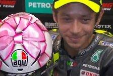 Valentino Rossi zeigt spezielles Helmdesign für Tochter