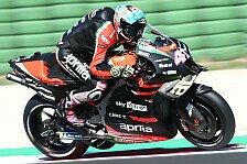 MotoGP-Test in Misano: Bestzeit für Aleix Espargaro