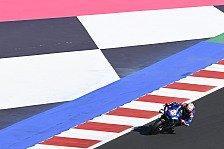 MotoGP Misano: Alex Rins holt Warm-Up-Bestzeit