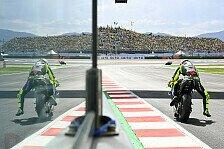 Valentino Rossi stürzt in Misano: Mache es mir nicht einfach