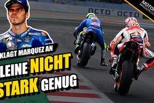 MotoGP - Video: Dicke Luft zwischen Marc Marquez und Joan Mir