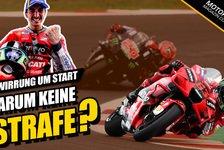 MotoGP - Video: MotoGP - Verwirrung um Bagnaia-Start: Warum keine Strafe?