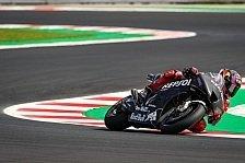 MotoGP-Test Misano - Tag 1: Honda zeigt 2022er-Prototyp