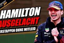 Formel 1 - Video: Verstappen lacht Hamilton aus! Keine Angst vorm Weltmeister