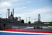 Formel 1 Sotschi, 1. Training: Bottas vor Titel-Rivalen