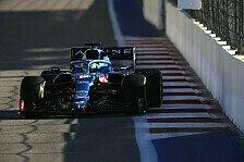 Alonso rühmt sich nach Sotschi: Schneller als Max Verstappen