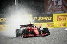 Formel 1 Sotschi, Sainz hadert mit P2: Zu früh über die Linie