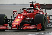 Formel 1, Leclerc größter Regen-Verlierer: Von Sainz blockiert