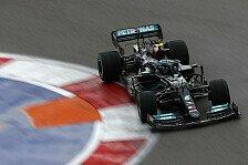Formel 1, Bottas schwach in Sotschi: Mercedes-Bolide schuld