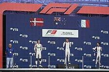 Formel 3 2021: Russland GP - Rennen 19 & 21