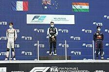 Formel 2 2021: Russland GP - Rennen 16 & 18