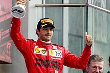 Formel 1, Sainz: Neuer Ansatz bringt bestes Ferrari-Wochenende