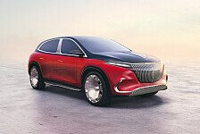 Mercedes-Maybach EQS: Blick in die Zukunft