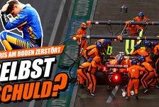Formel 1 - Video: Sieg verloren! War Lando Norris selbst schuld?