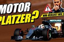 Formel 1 - Video: Motorprobleme bei Mercedes! Verliert Hamilton dadurch die WM?